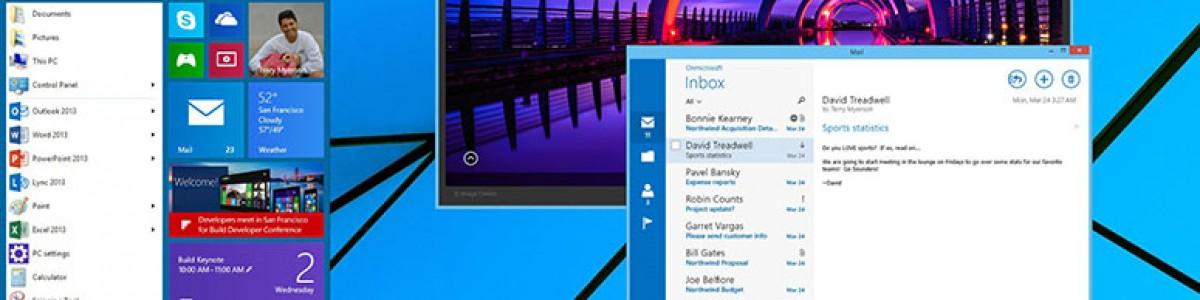 Lanzamiento del nuevo Windows 9